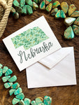 Nebraska Goldenrod Notecard