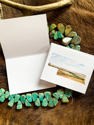 Nebraska State Watercolor Notecard Set