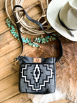 Black Pendleton Purse