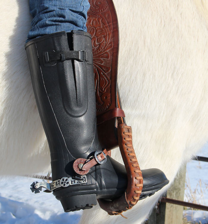 Quatro Ranchero Insulated Rubber Riding Boots - Ranch-Land Western Store