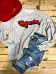 Nebraska Groovy Sweatshirt - Ranch-Land Western Store