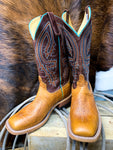 Anderson Bean Tobacco Yeti Square Toe Boot - Ranch-Land Western Store