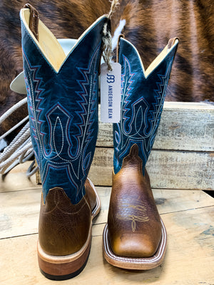 Anderson Bean Natural Twister Square Toe Boot