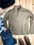 Ariat Caldwell Quarter Zip Fleece Pullover - Ranch-Land Western Store