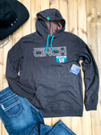 Cinch Chocolate Brown Logo Hoodie - Ranch-Land Western Store