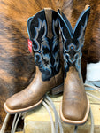 Ariat Tombstone Earth Brown Square Toe Boot - Ranch-Land Western Store