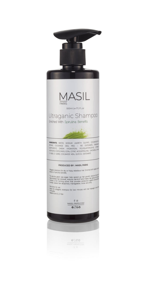 Shampoo- Spirulina benefits - Masil Paris