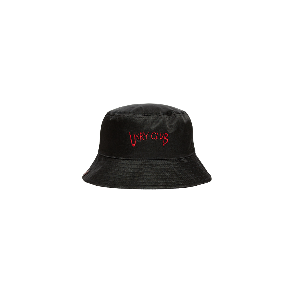 """imoto"" Black Magic Bucket Hat"