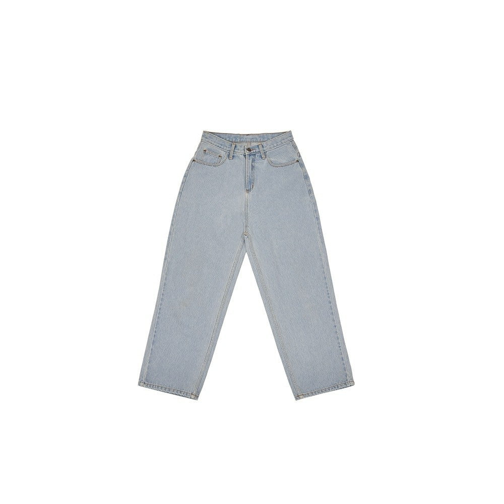UXRY LIGHT BLUE BAGGY JEANS