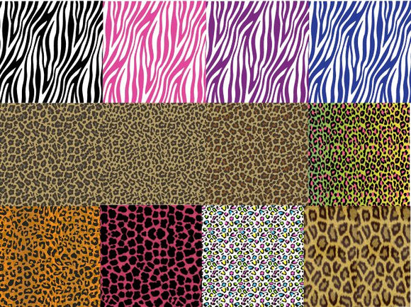 Pattern Animal Prints #1 in Adhesive and/or Heat Transfer Vinyl