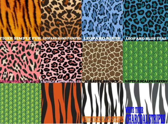 Pattern Animal Prints #2 in Adhesive and/or Heat Transfer Vinyl