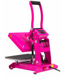 "Stahls' Heat Press in Hot Pink 9""x12"" FREE SHIPPING in USA"