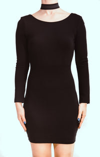V Neck Bodycon