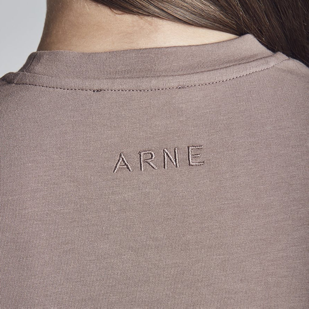 Womens Jersey T'shirt in Mauve