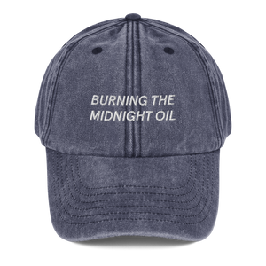 Midnight Oil Cap