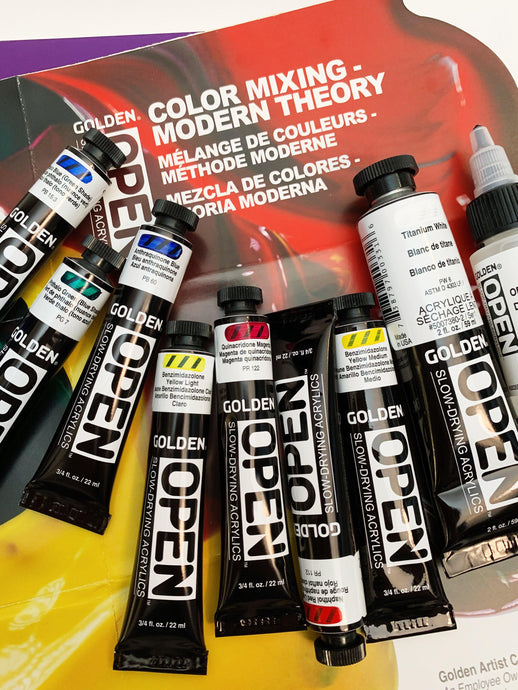 Product Review: GOLDEN OPEN Acrylic Colors