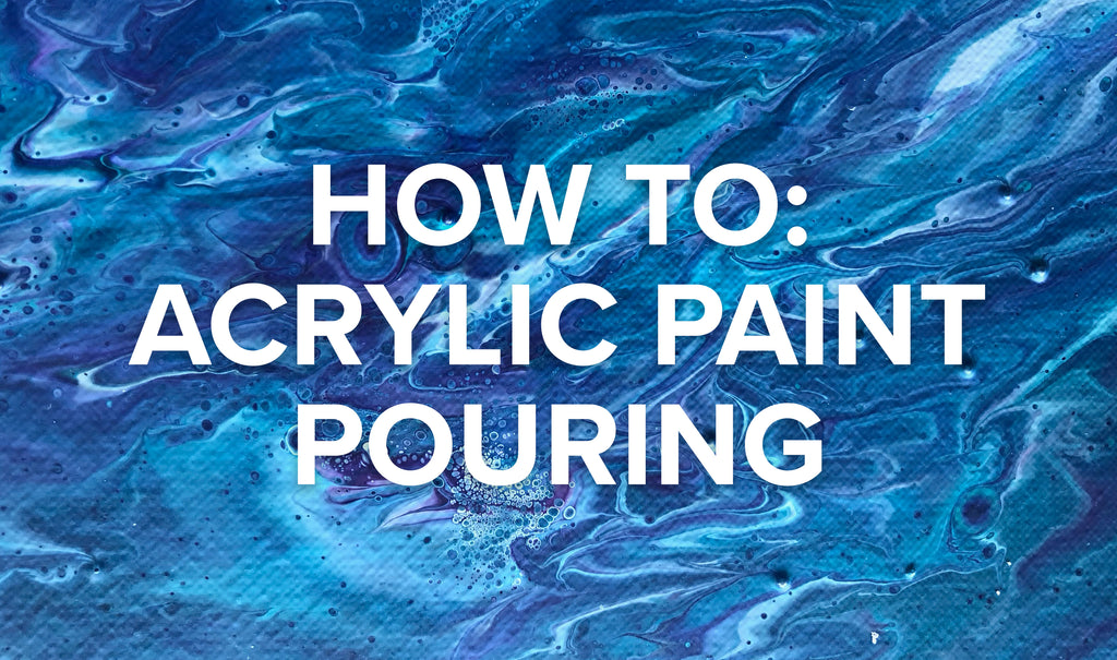 Acrylic Paint Pouring For Beginners Sammy Gorin Art