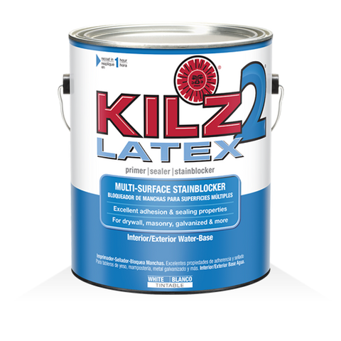 KILZ 2® LATEX Primer Seal Stainblocker for Alcohol Inks