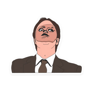 Dwight CPR Mask, Choose Sticker or Magnet