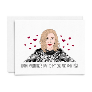 Moira One and Only Bébé Valentine's Day Card