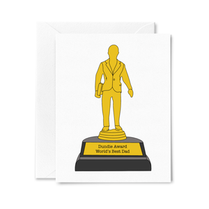 """The Office"" Dundie Award World's Best Dad Father's Day Card"