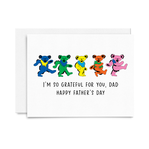 Grateful Dead Father's Day Card