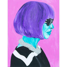 Anna Wintour Canvas Painting Wall Art by
