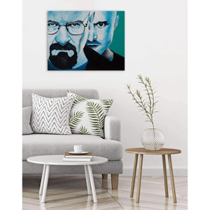 Breaking Bad Canvas Painting Wall Art, Walter White and Jesse Pinkman