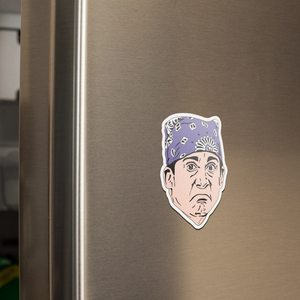 The Office Michael Scott Prison Mike Sticker | Magnet