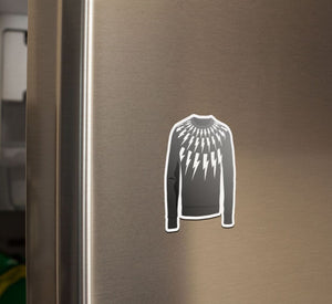 David Lightning Bolt Sweater, Choose Sticker or Magnet