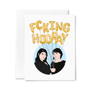 MFM F*cking Hooray Greeting Card
