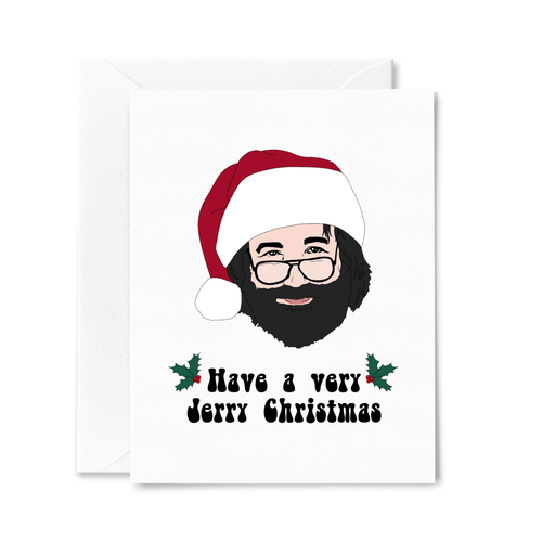 Jerry Garcia Christmas Card