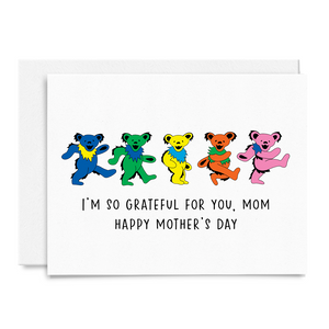 Grateful Dead Mother's Day Card