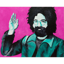 Jerry Garcia Canvas Painting Wall Art