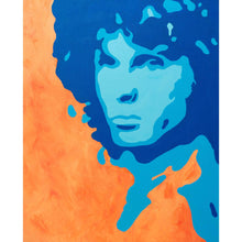 Jim Morrison Canvas Painting Wall Art