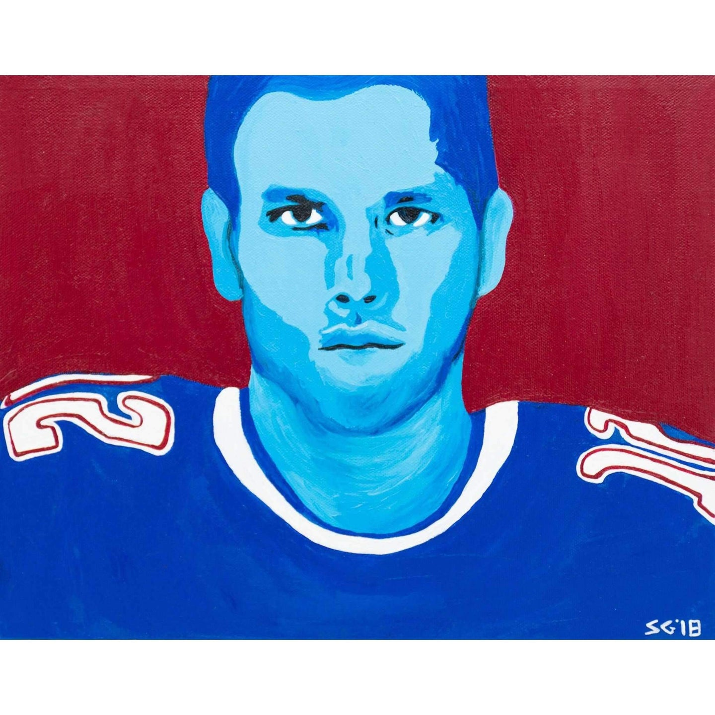 New England Patriots Tom Brady Wall Art Painting