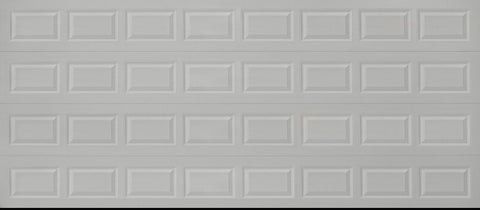 16x7 Economy Series Non-Insulated Garage Door (Style: Traditional)