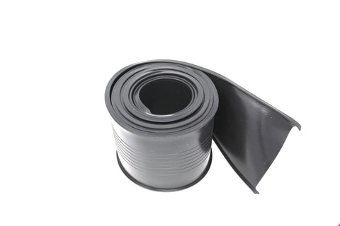 "5"" Garage Door Bottom Seal (Black) T Channel"