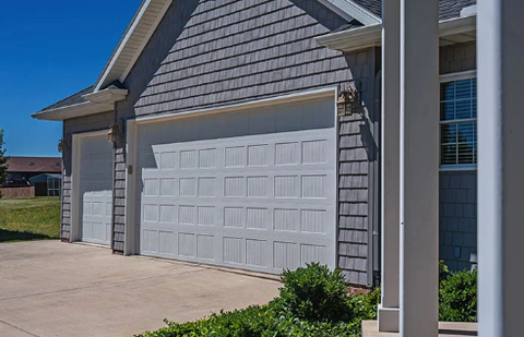 Economy Carriage 18x7 Non-insulated Garage Door