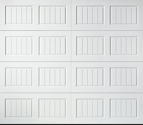 Value Carriage 8x7 Insulated Garage Door