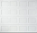 8x7 Economy Series Non-Insulated Garage Door (Style: Carriage)