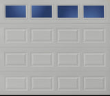 Economy Windowed Traditional 8x7 Non-Insulated Garage Door