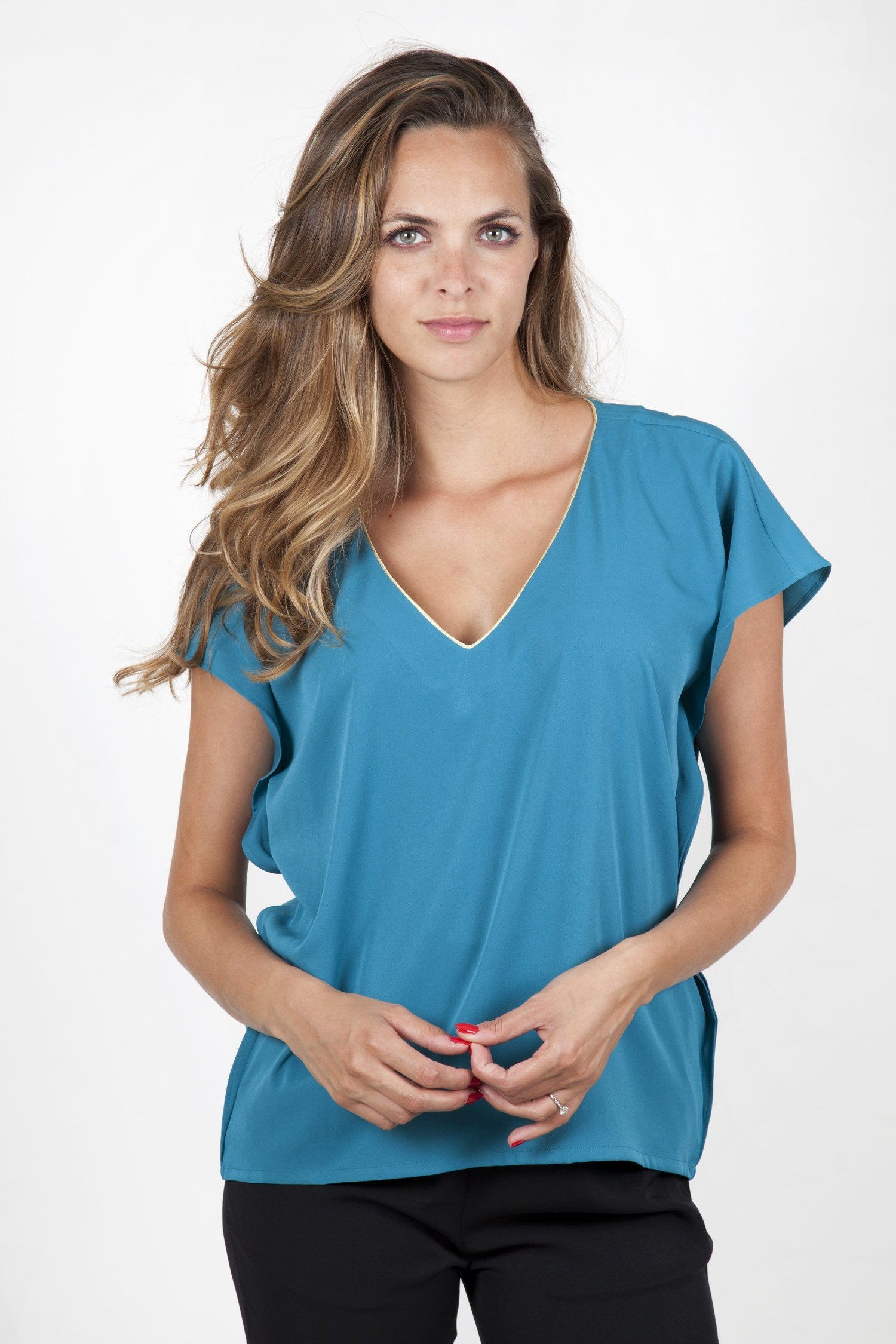 Stella Green Top Capsule Collection By Juliette - Green / Free - Tops Capsule Collection By Juliette