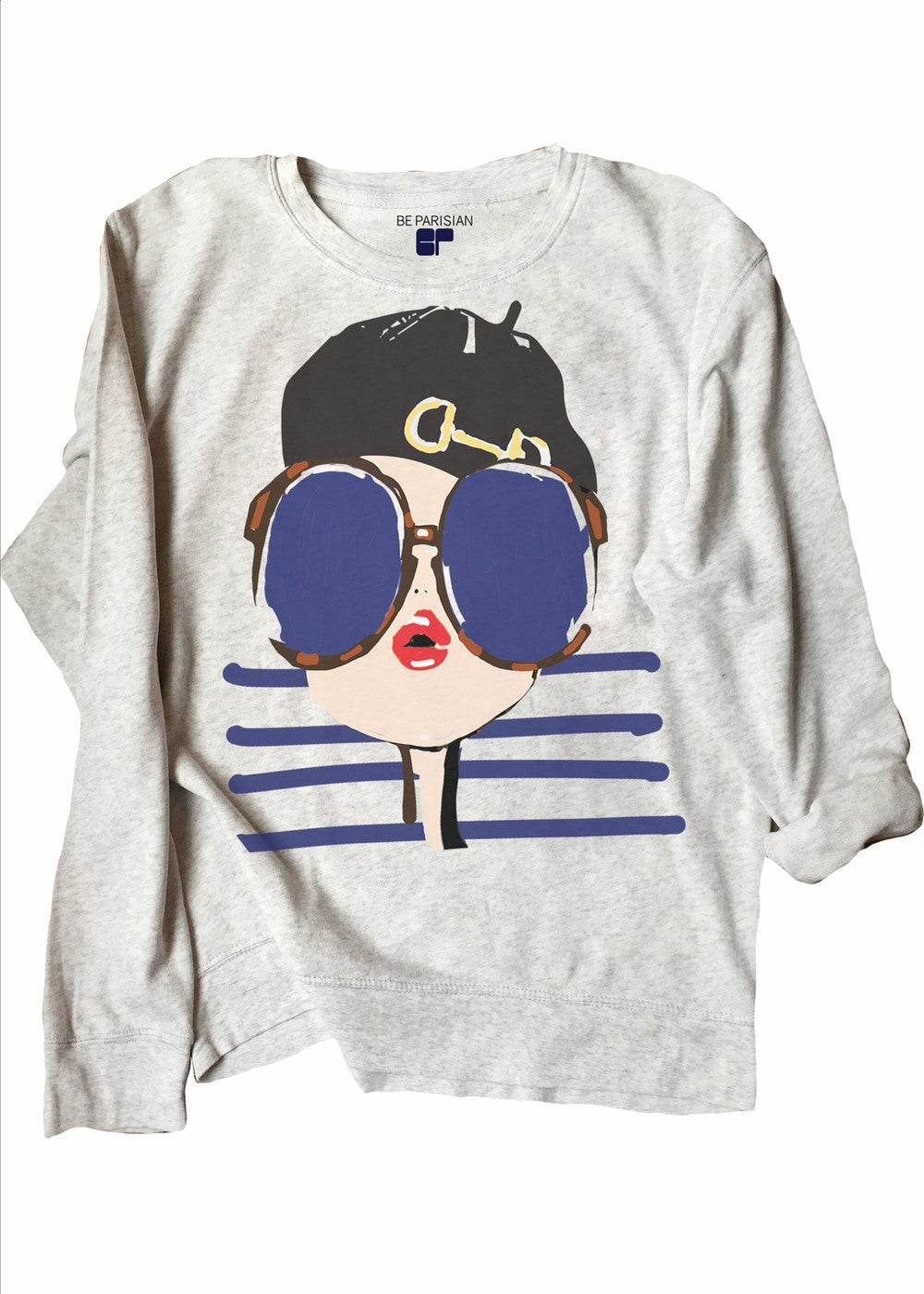 Sweat Loose Preppy Be Parisian - Sweat Be Parisian