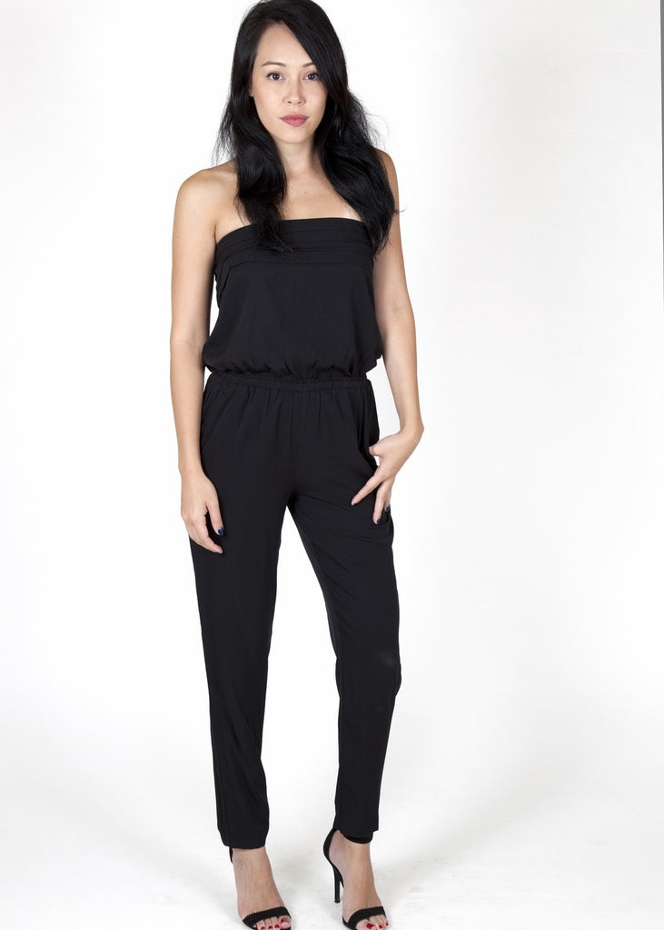 Julie Black Jumpsuit Capsule Collection By Juliette - M - Jumpsuits Capsule Collection By Juliette