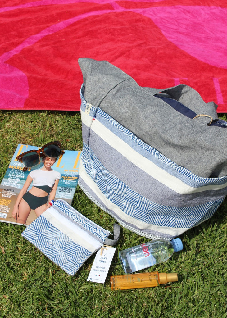 Cap Ferret Bag A French Summer - Weekender A French Summer