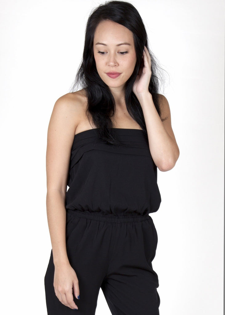 Julie Black Jumpsuit Capsule Collection By Juliette - Jumpsuits Capsule Collection By Juliette