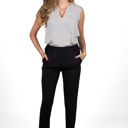 Mathilde Black Pants Capsule Collection By Juliette - S / Black - Pants Capsule Collection By Juliette