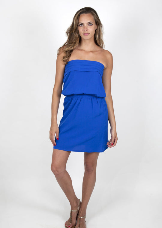 Julie Electric Blue Dress Capsule Collection By Juliette - S / Blue - Dresses Capsule Collection By Juliette