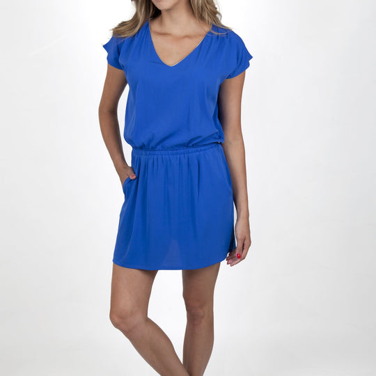Sofia Electric Blue Dress Capsule Collection By Juliette - S / Electric Blue - Dresses Capsule Collection By Juliette